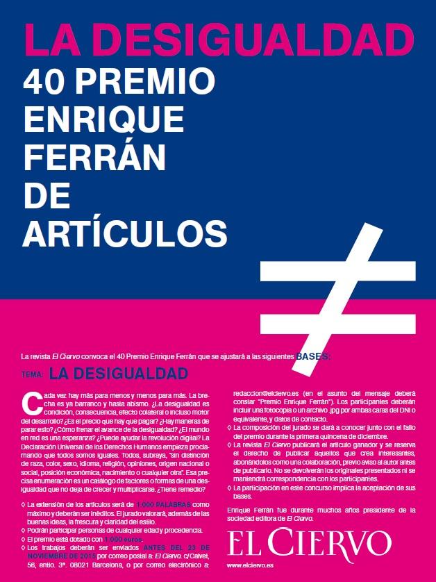 40 Premio Enrique Ferrán