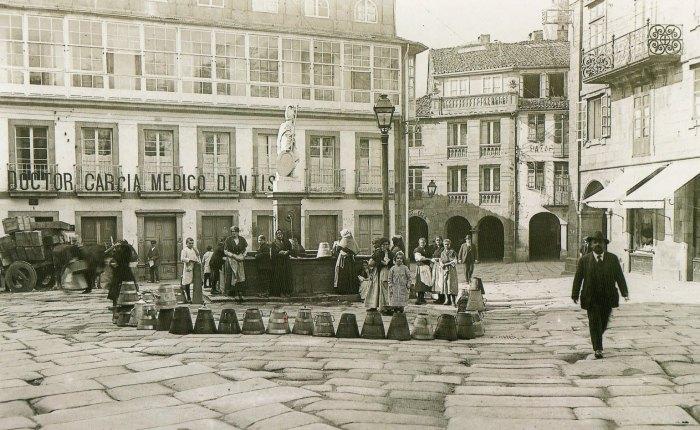 Café en praza doToural